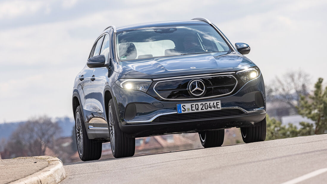 Mercedes EQA 250, Exterieur