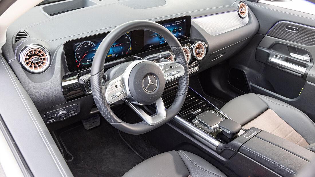Mercedes EQA 250, Interieur