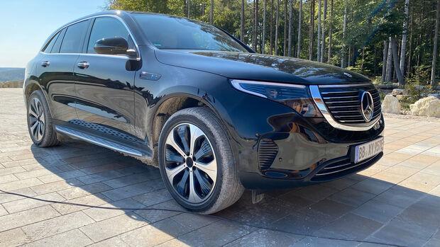 Mercedes EQC 400 4Matic Sound Design Demo Fahrzeug