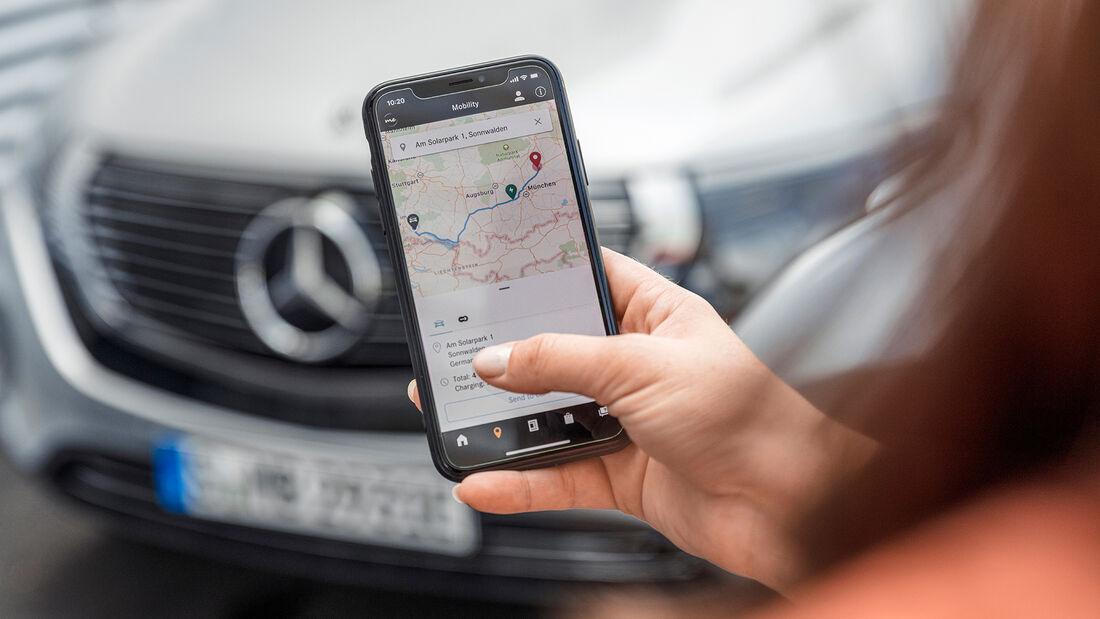 Mercedes EQC, App