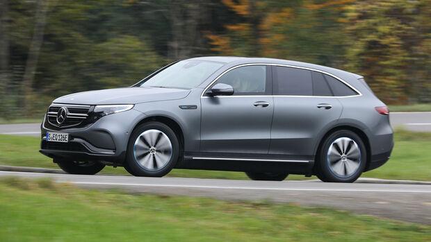 Mercedes EQC, Exterieur