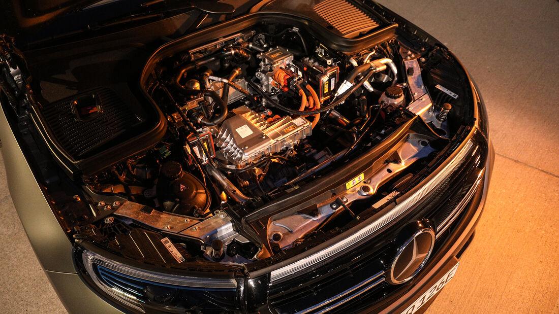 Mercedes EQC, Motorraum