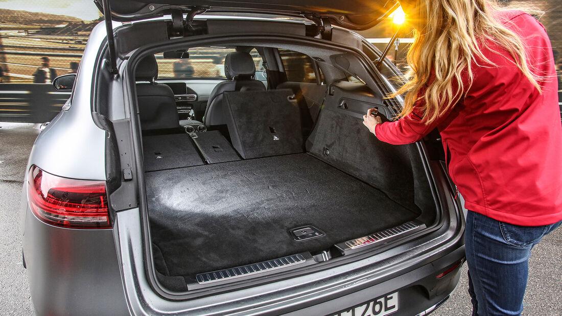 Mercedes EQC, ams 2019_23, Kofferraum