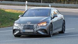 Mercedes EQE AMG Erlkönig