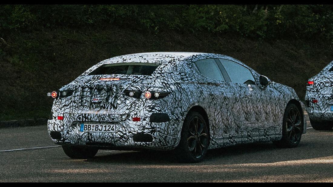 Mercedes EQE (2021): Elektro-E-Klasse mit 600 km ...