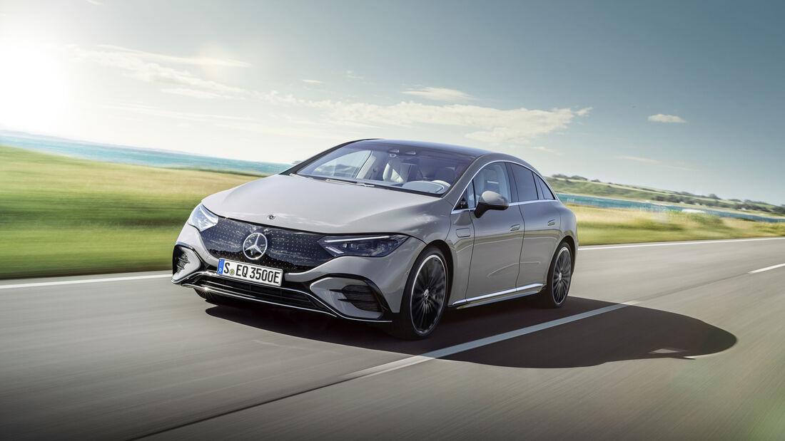 Mercedes EQE Premiere
