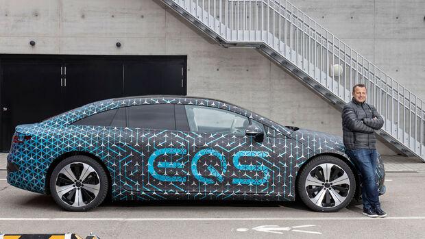Mercedes EQS 2021 Christoph Starzynski Chief Engineer EQS