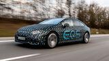 Mercedes EQS 2021 Mitfahrt