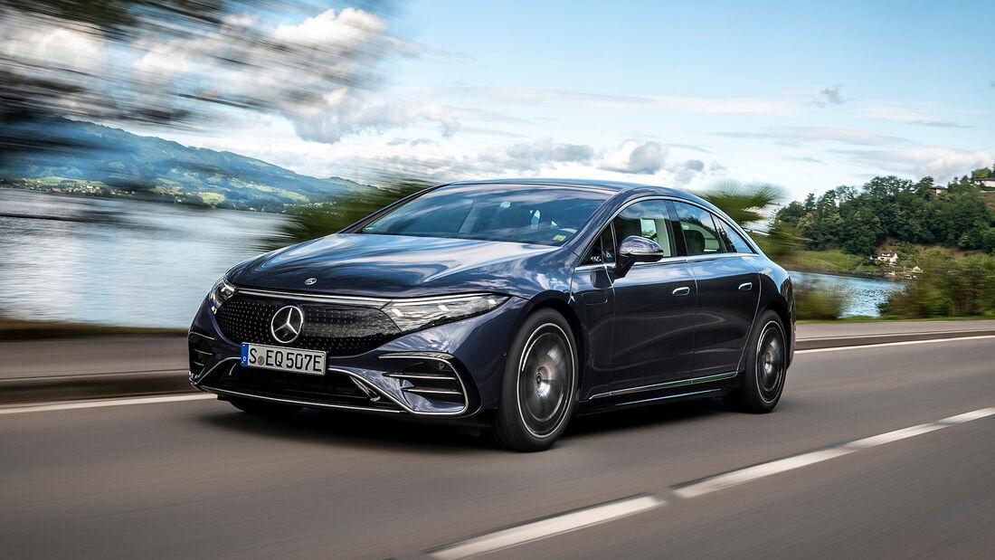 Mercedes EQS 450+