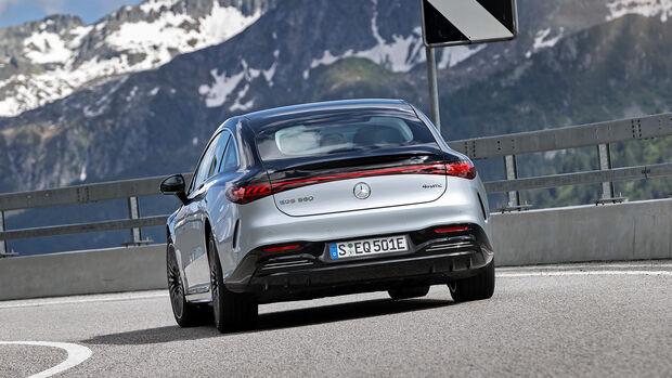Mercedes EQS 580