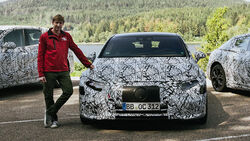 Mercedes EQS Erlkönig