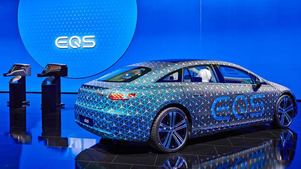 Mercedes EQS Interieur Hyperscreen