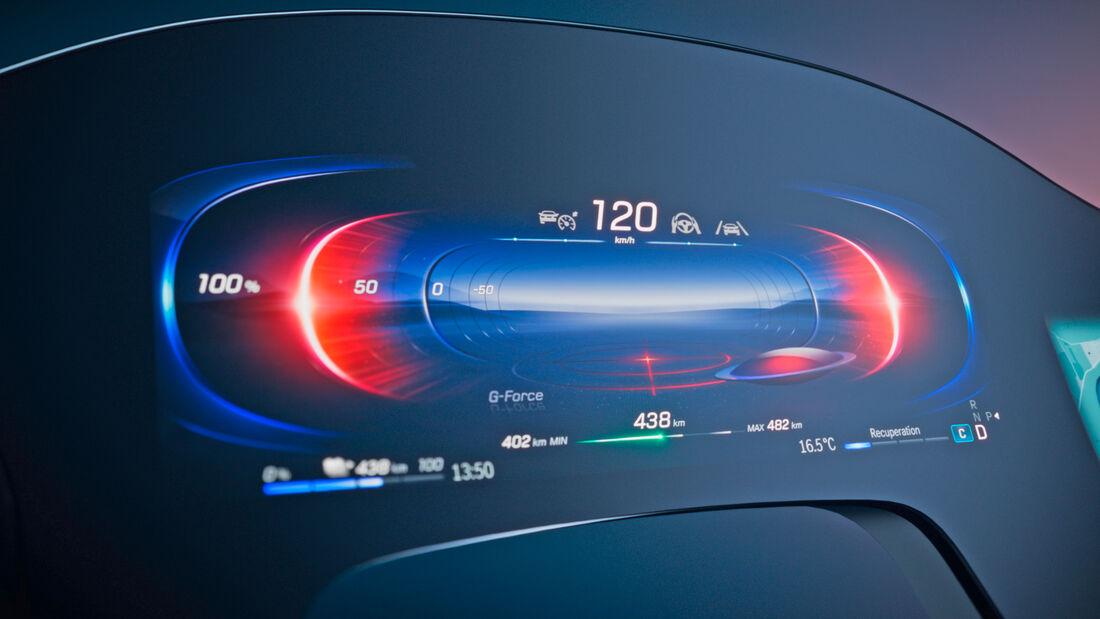 Mercedes EQS MBUX Hyperscreen