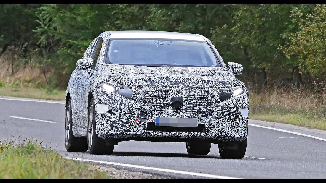 Mercedes EQS SUV Erlkönig