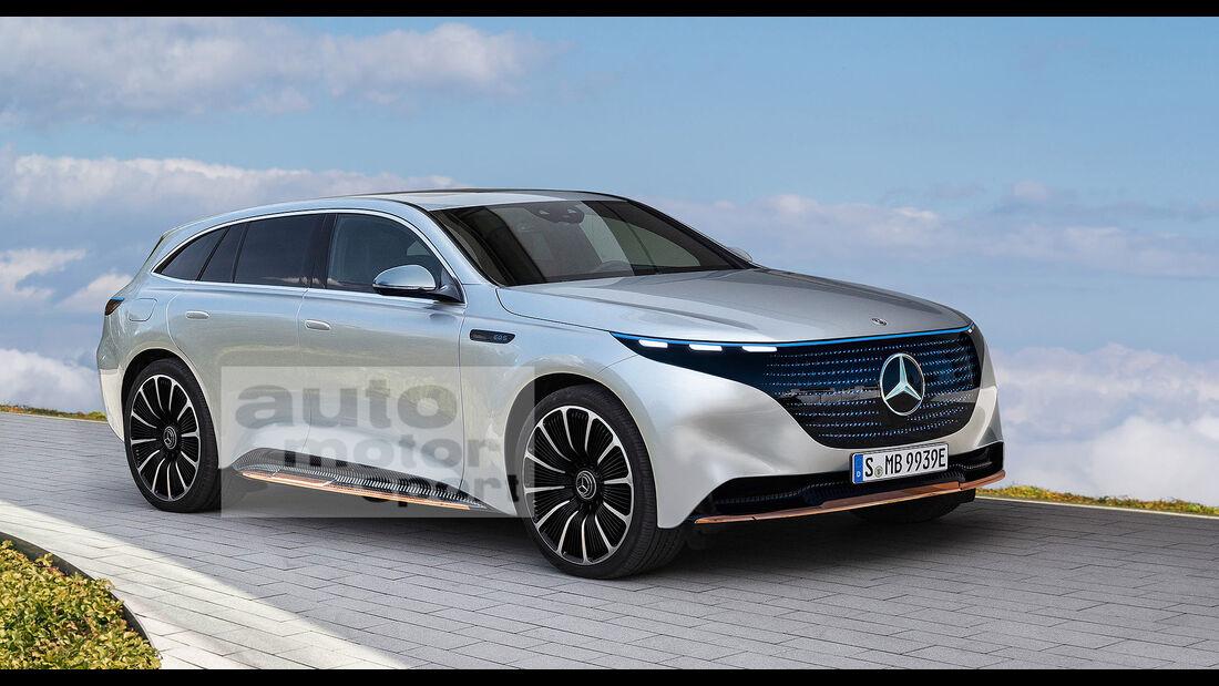 Mercedes EQS SUV Retusche Schulte