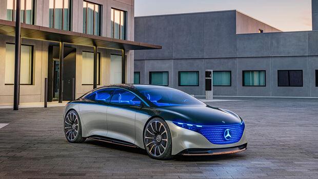 Mercedes EQS, Showcar