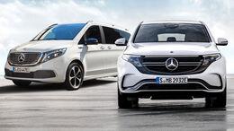 Mercedes EQV EQC Abo MB Rent