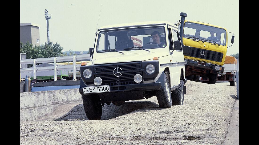 Mercedes Einfahrbahn