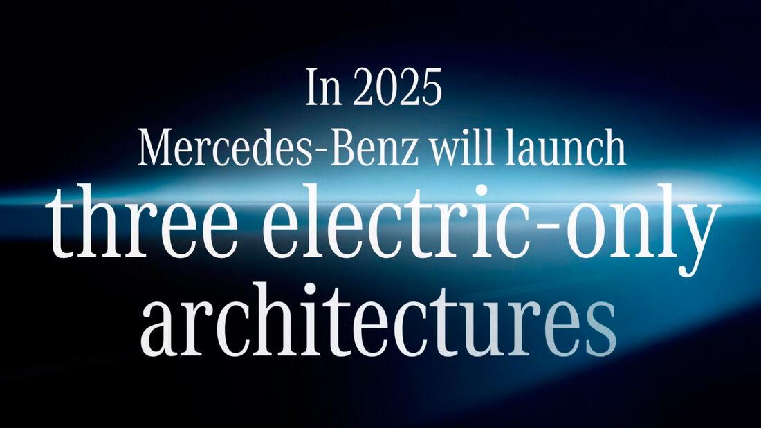 Mercedes Elektro-Plattformen 2025