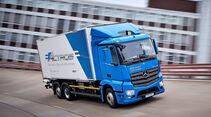 Mercedes Elektro-Trucks Lkw