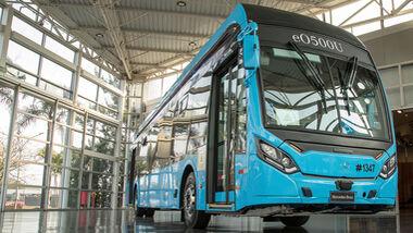 Mercedes Elektrobus-Fahrgestell eO500U
