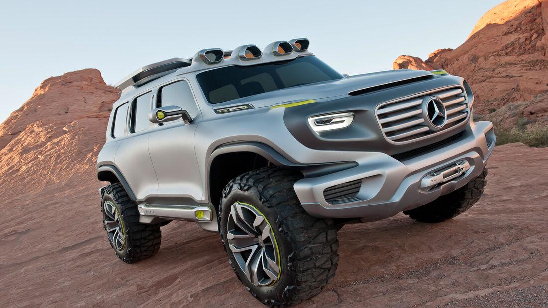 Mercedes Ener-g, Frontansicht