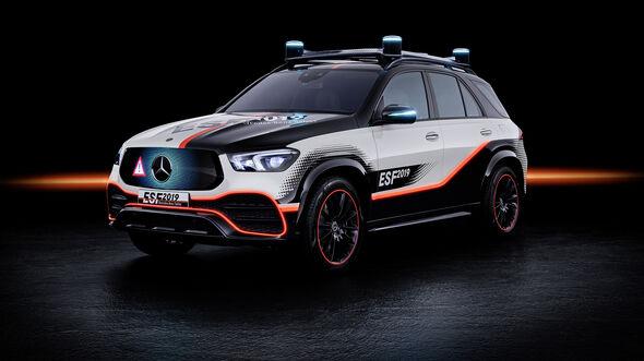 Mercedes Experimental-Sicherheitsfahrzeug, Exterieur