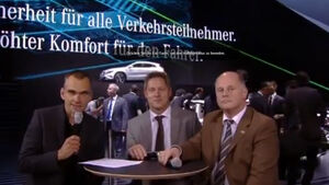 Mercedes Expertentalk IAA 2013 Screenshot