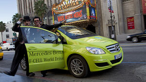 Mercedes F-Cell World Drive, 20. Etappe, Los Angeles, Californien