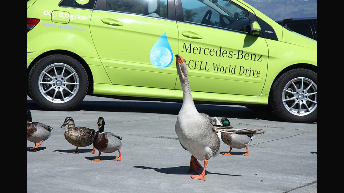 Mercedes F-Cell World Drive, 21. Etappe, Monterey