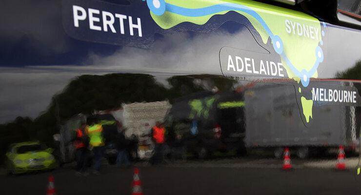 Mercedes F-Cell World Drive, 31. Etappe, Australien Melbourne - Portland
