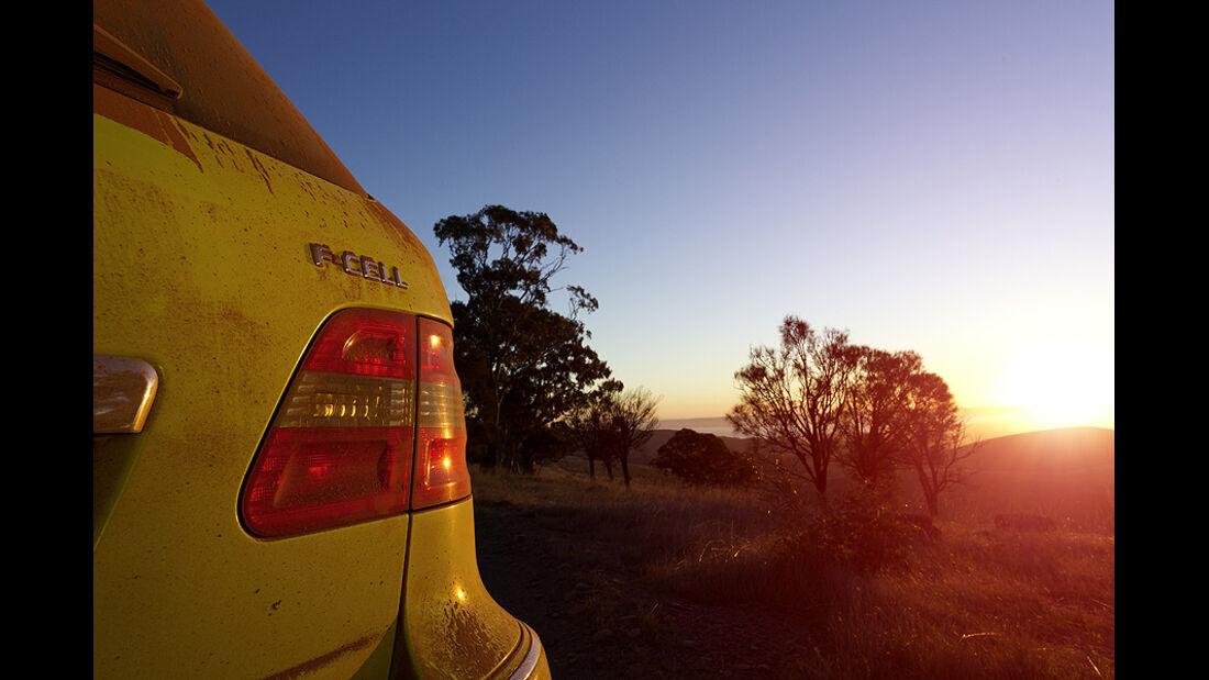 Mercedes F-Cell World Drive, 33. Etappe, Adelaide-Port Augusta
