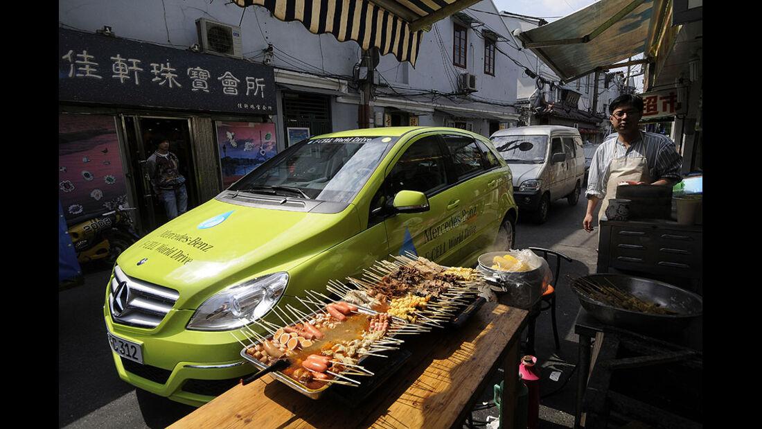 Mercedes F-Cell World Drive, 39. Etappe, China, Shanghai - Huaian