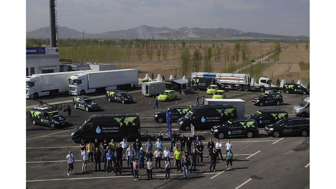 Mercedes F-Cell World Drive, 43. Etappe, Datong-Lingshi