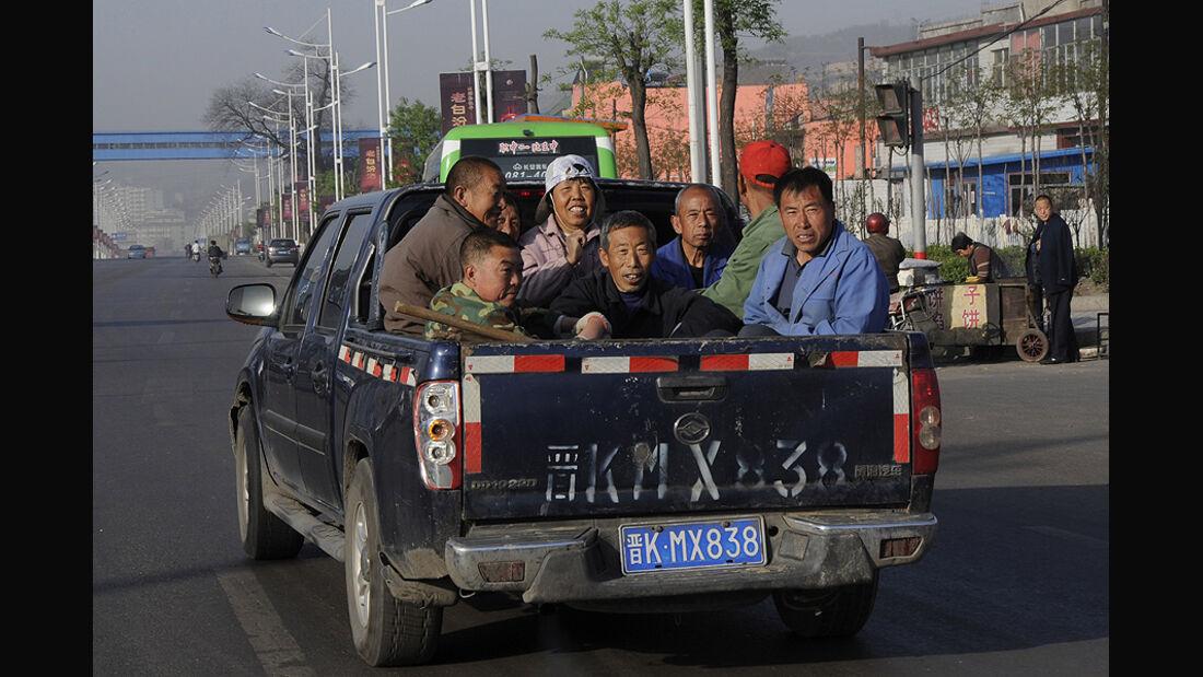 Mercedes F-Cell World Drive, 44. Etappe, Lingshi-Xian