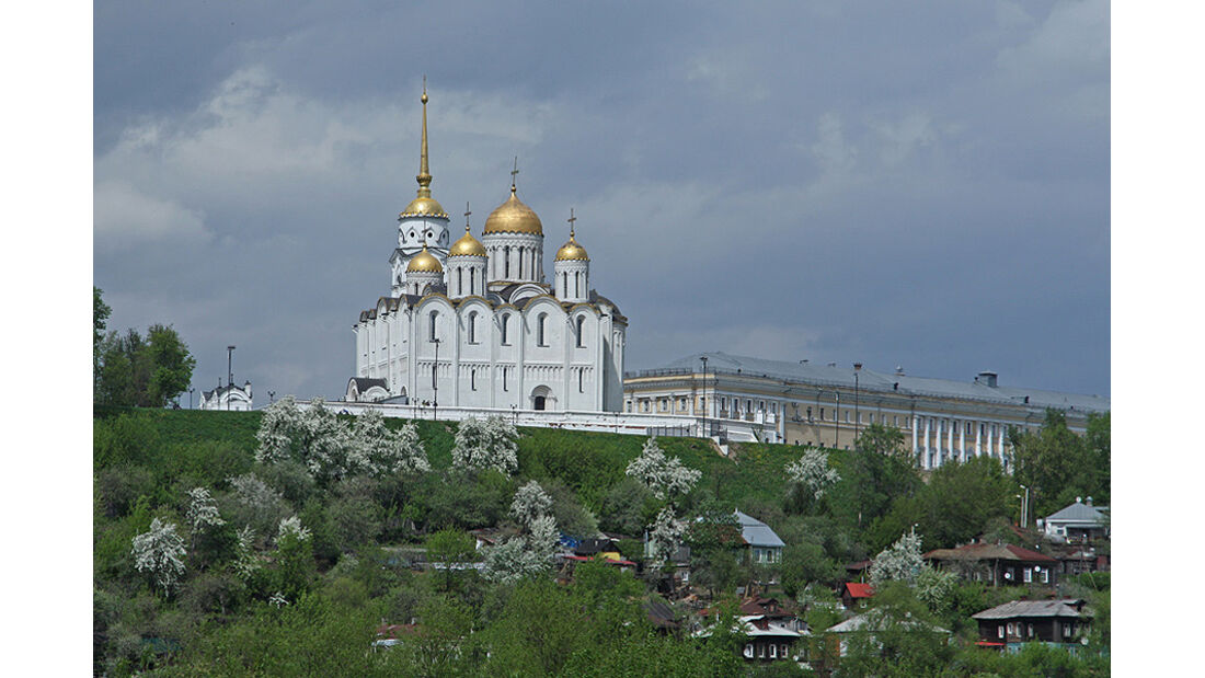 Mercedes F-Cell World Drive, 60. Tag, Nischnij Nowgorod - Moskau