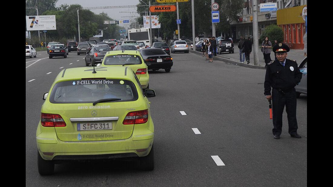 Mercedes F-Cell World Drive, B-Klasse, Brennstoffzelle, 53. Tag