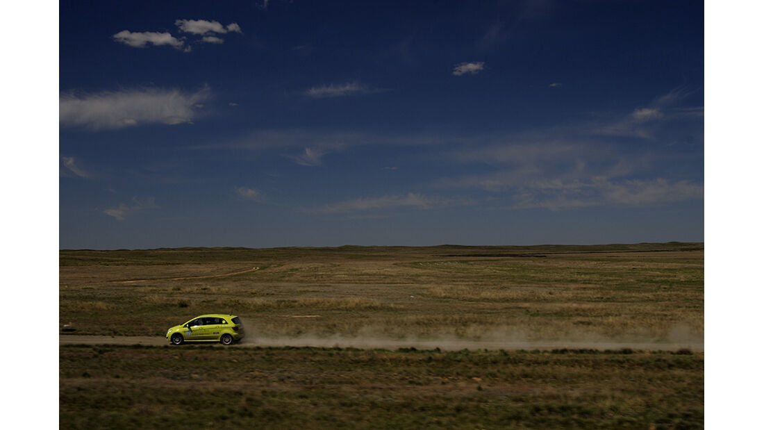 Mercedes F-Cell World Drive, B-Klasse, Brennstoffzelle, 54. Tag