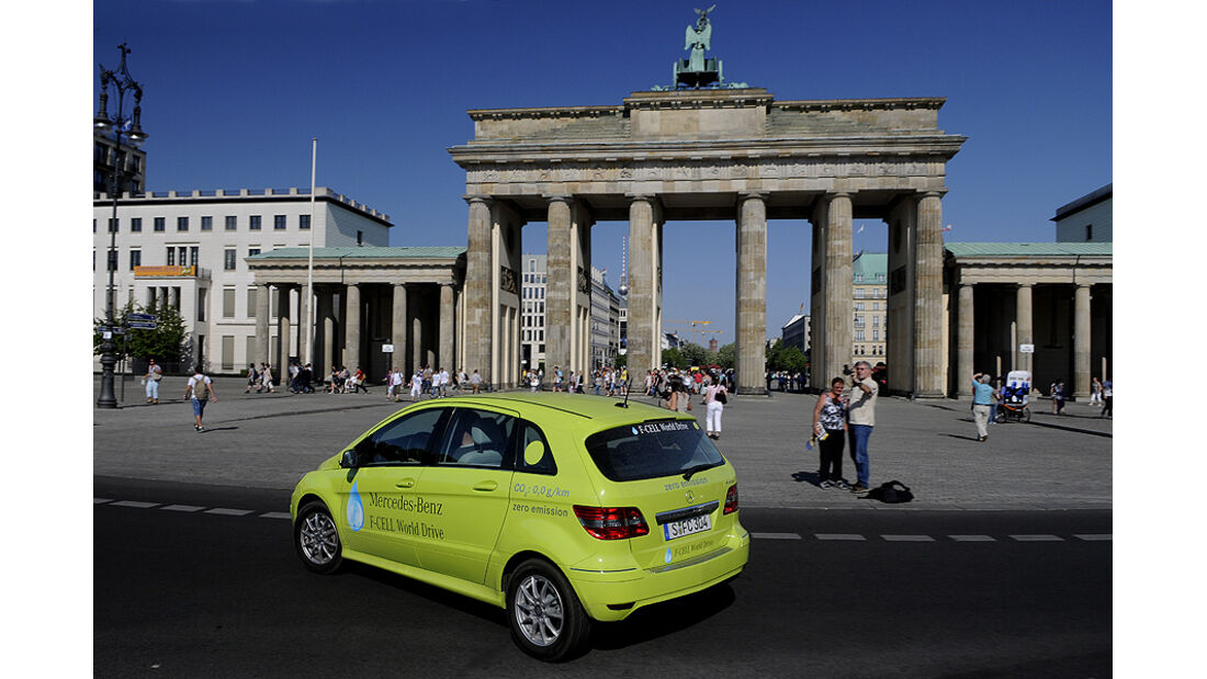 Mercedes F-Cell World Drive Tag 70, Brandenburger Tor
