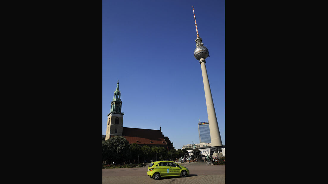 Mercedes F-Cell World Drive Tag 70, Fernsehturm