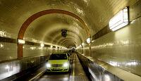 Mercedes F-Cell World Drive Tag 70, St. Pauli-Elbtunnel