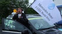 Mercedes F-Cell World Drive Tag 72, Nürnberg - Stuttgart