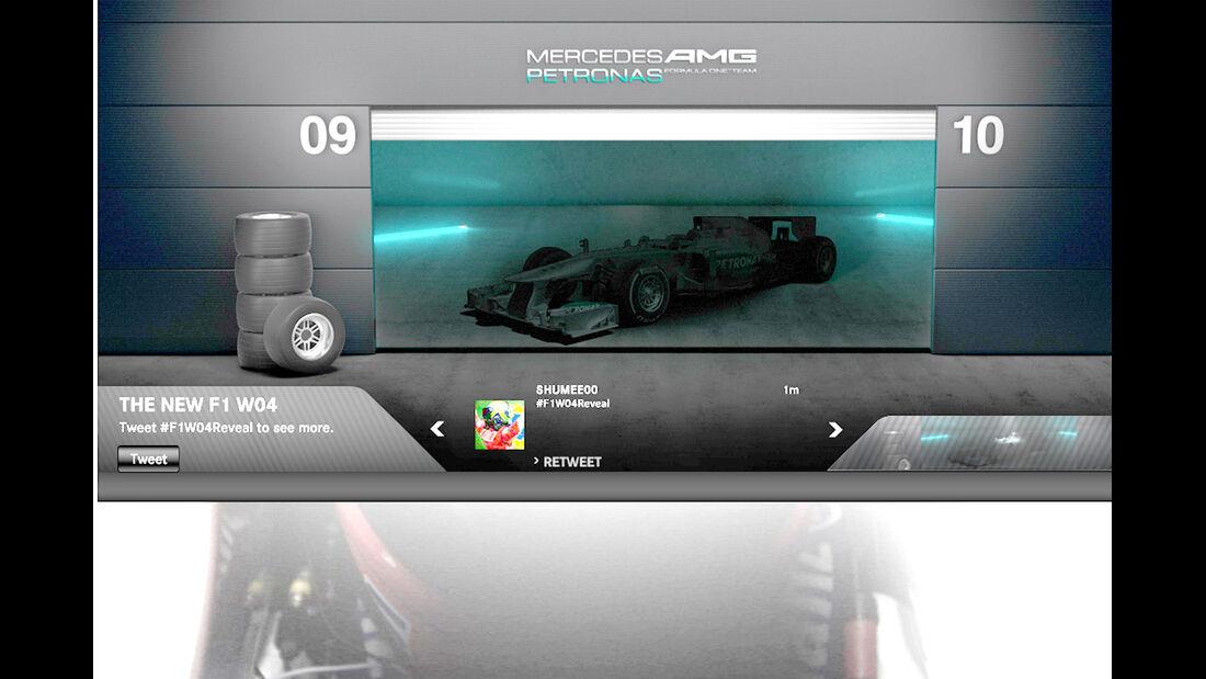Mercedes F1 AMG WO4