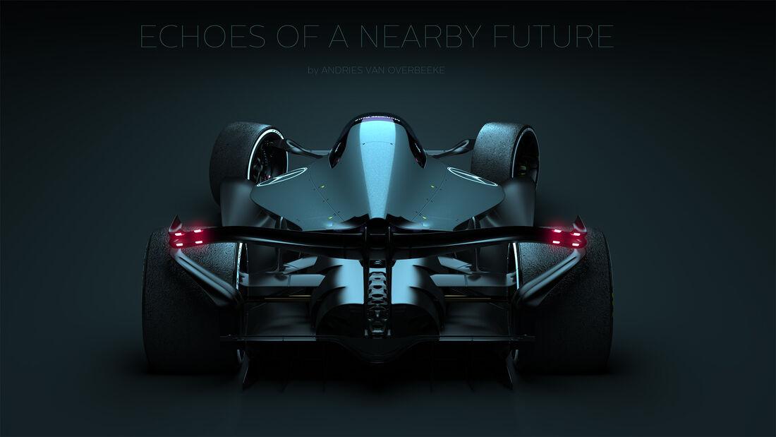 Mercedes F1-Concept - Andries van Overbeeke - 2020