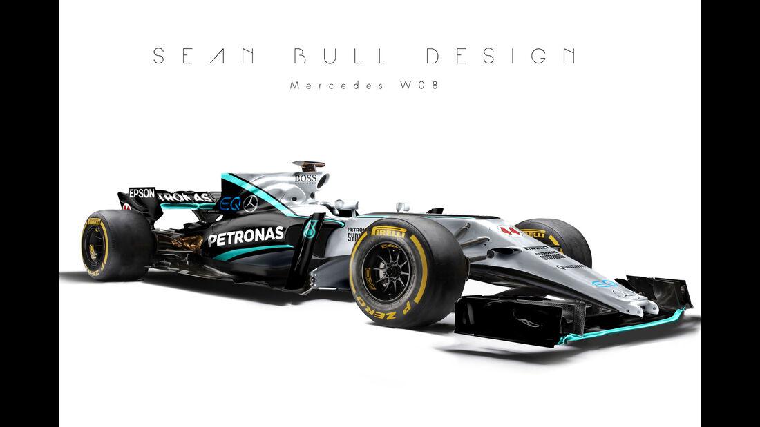Mercedes - F1-Designs 2017 - Sean Bull - Formel 1