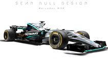 Mercedes - F1-Designs 2017 - Sean Bull - Formel 1