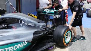 Mercedes - F1 - GP Spanien - Barcelona - Donnerstag - 12.5.2016