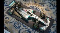 Mercedes - F1 - Lackierung 2020