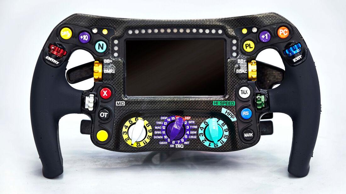 Mercedes F1 Lenkrad 2014