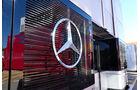Mercedes - F1 - Motorhome - GP Spanien 2016 - Barcelona